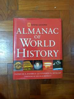Natgeo Almanac of World History