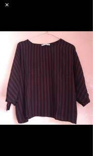 NEW Batwing Blouse Pull&Bear