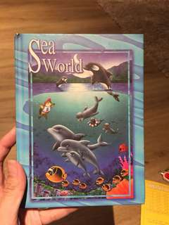🚚 Sea World Notebook A5 Size