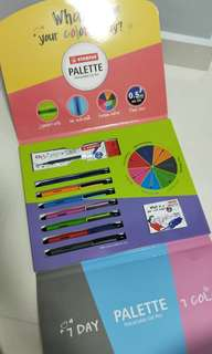 🚚 Stabilo Palette Retractable Gel Pen