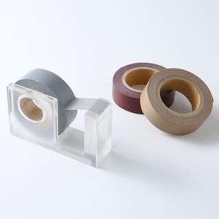 Muji Acrylic Tape Dispenser