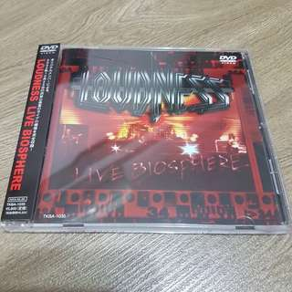 HOTZ! Loudness Japan Press Live Biosphere DVD