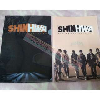 [CRAZY DEAL 90% OFF FROM ORIGINAL PRICE][READY STOCK]SHINHWA KOREA OFFICIAL A4 SIZE FILE 2PC!ORIGINAL FR KOREA (PRICE NOT INCLUDE POSTAGE)PLEASE READ DETAILS FOR MORE INFO; POSLAJU:PENINSULAR AREA :RM10/SABAH SARAWAK AREA: RM15