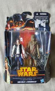 Starwars han solo and chewbaca