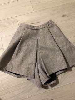 Love Bonito Grey shorts