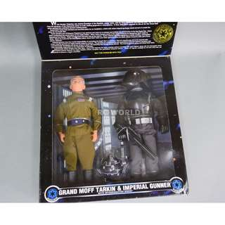 "Kenner Star Wars (Collector Series) 1/6th, 12"" Figure (1997) GRAND MOFF TARKIN & IMPERIAL GUNNER"