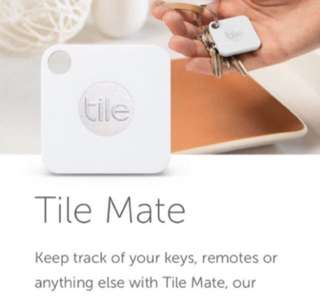 大頭蝦必備- Tile Mate Bluetooth tracker, 智能藍芽追踪器