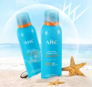 [A.H.C] Natural Perfection Aqua Sun Spray SPF50 PA++++ 180ml