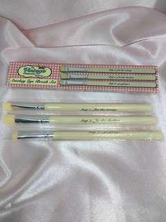 The Vintage Cosmetic Company Smokey Eye Brush Set