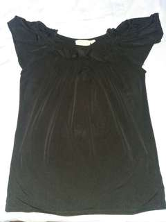Black Butterfly Blouse