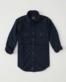 Brand New Authentic Abercrombie & Fitch Chamois Shirt