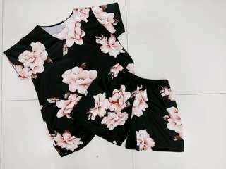 Floral Terno (Top&Bottom)