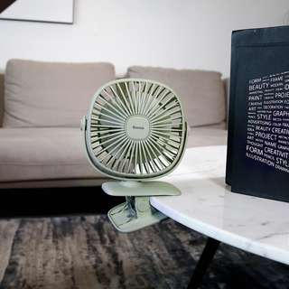 360度旋轉坐檯風扇