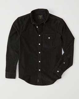 Brand New Authentic Abercrombie & Fitch Corduroy Shirt