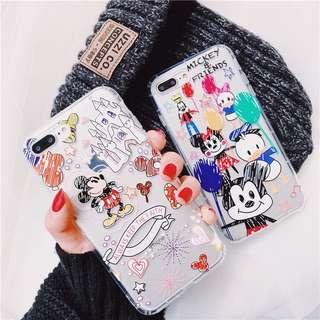 迪士尼iphone軟case
