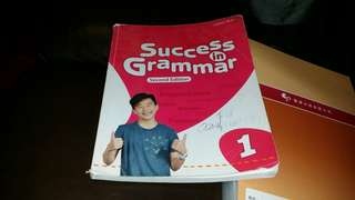 2017年出版Success in Grammar 1,  year 2017 edition, Oxford   trade in Tuen.Mun  屯門交收