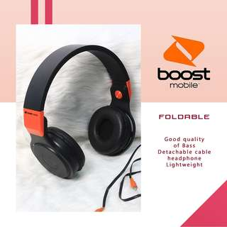 Boost Mobile Foldable Headphone