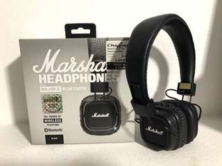Marshall Major 2 Bluetooth (Black)