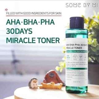 SOME BY MI AHA. BHA. PHA 30 DAYS MIRACLE TONER 150ML
