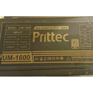 prittec 1600w mining power supply