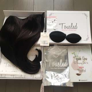 Tousled Halo Hair Extensions