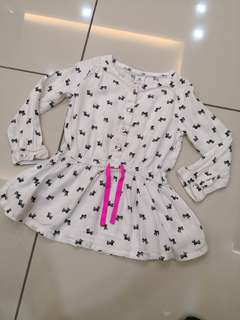 Carters Puppies Top (3t)