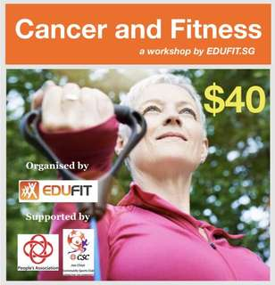 Cancer and Fitness Workshop