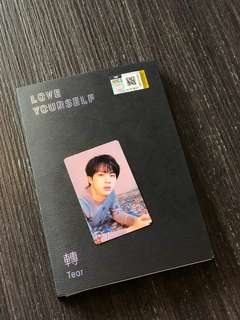 BTS LOVE YOURSELF TEAR ALBUM O VER JIN PC