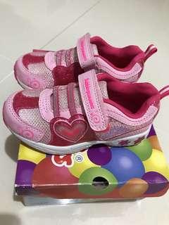 Girls Shoes bubblegummers size 8