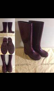 Louis Vuitton Splash Rain Boots - Size 39