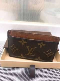 LV card holder連盒