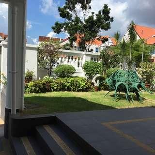 Corner terrace for sale