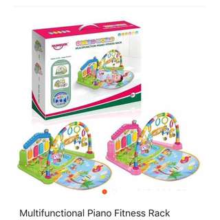 Multifunctionl fitness piano rack