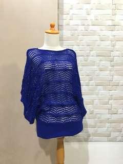 Blue Knit top