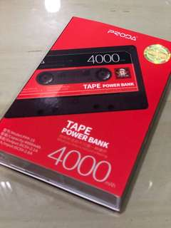 Tape 4000 power bank