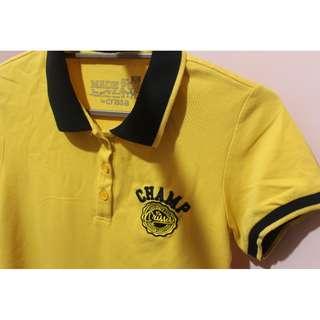 Crissa Yellow Polo Shirt