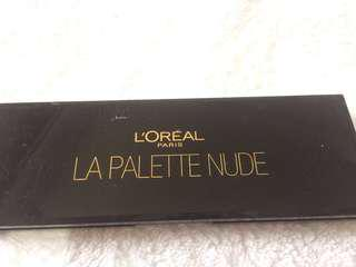 nude eyeshadow pallette