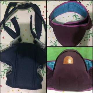 Hip seat carrier and carrier
