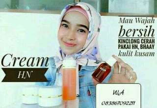 Cream HN jual sepaket original 100%