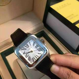 Cartier Santos 100 watch