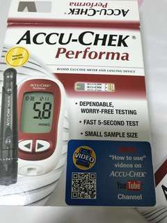 Blood glucose meter/machine