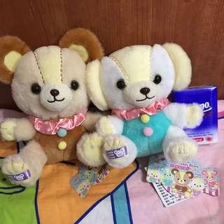 Candy bear 台灣版  公仔