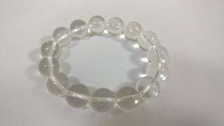 天然5A級白水晶手錬14mm