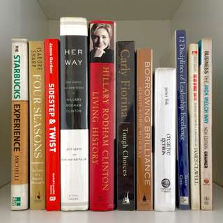 The Art of War, Jack Welch, Hillary Clinton, Business Books, Biographies, and more!