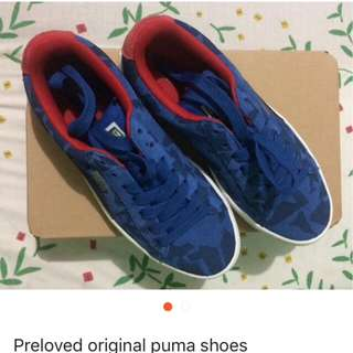 Preloved Original Puma shoes size US 5