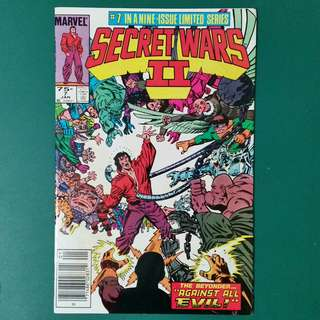 Secret Wars II No.7 comic