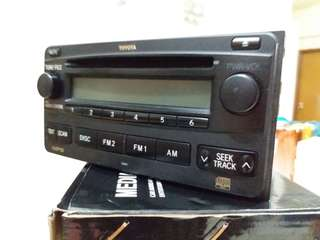 TOYOTA MP3 PLAYER