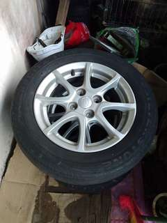 Myvi Icon Original Rims