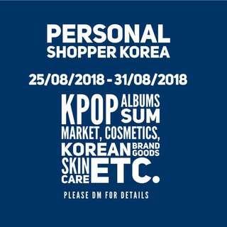 Personal Shopper Korea SUM Market, Albums, etc
