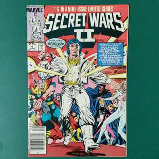 Secret Wars II No.6 comic